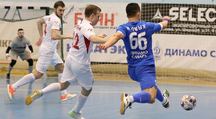 """Mini-football. """"Dynamo-Samara"""" took away points from the team of the Communist party"""