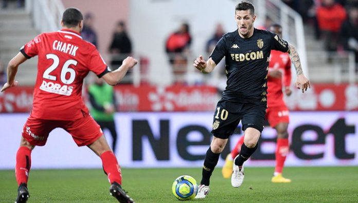 Monaco without Golovin played a draw with