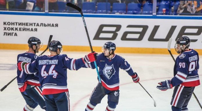 """""""Neftekhimik"""" scored eight unanswered goals in the gate of """"Cupid"""""""