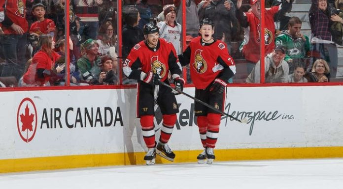 """""""Ottawa"""" has interrupted a victorious series """"Dallas"""" thanks to a goal Anisimov in overtime"""