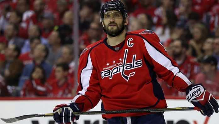 Ovechkin became the first NHL hockey player for 27 years, scored three hat-tricks in six matches