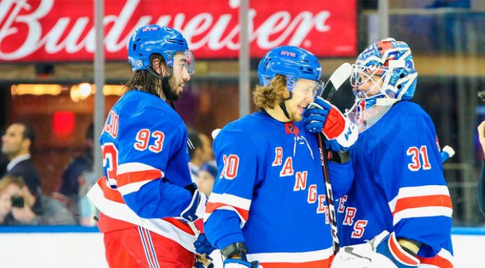 """Panarin and Shesterkin helped the Rangers to deal with """"Caroline"""""""