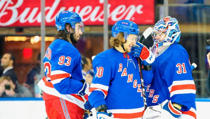 Panarin and Shesterkin helped the Rangers to deal with
