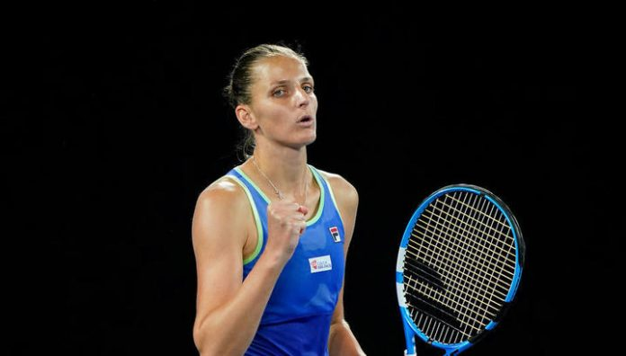 Pliskova defeated Mladenovic and reached the quarterfinals of the tournament in Dubai