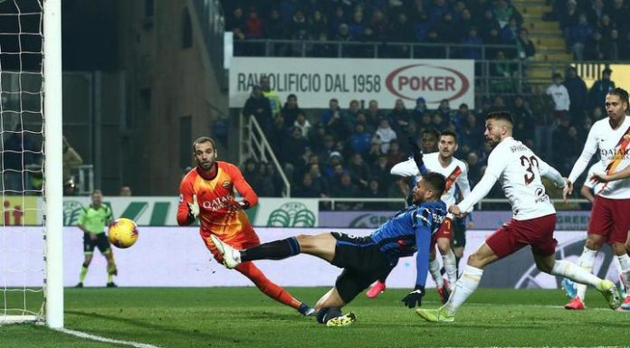 """Roma were defeated in the third match in a row, losing the """"Atalanta"""""""