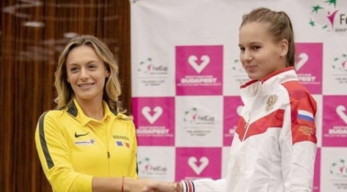Romanian tennis player leveled the score in the fed Cup tie with Russia
