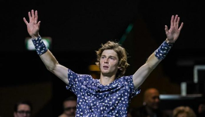 Rublev per hour beat Basilashvili and advanced to the second round of the tournament in Rotterdam