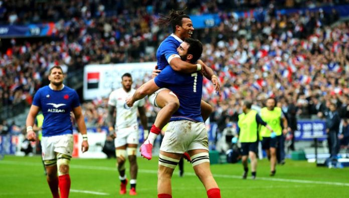 Rugby France beat England in six Nations