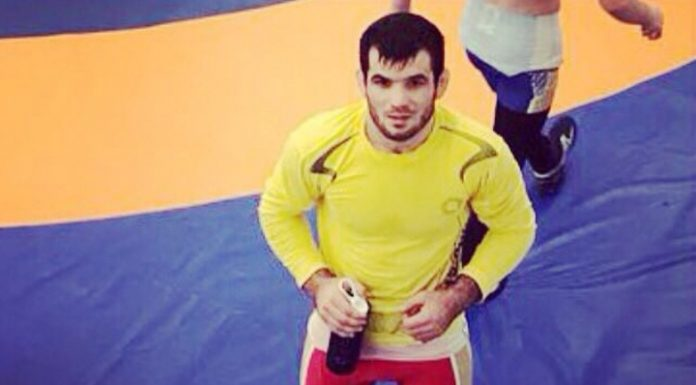 Russian Abdullayev won a silver medal at the European championship on struggle