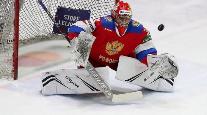 Russian hockey players conceded five goals in a match of Euro tour with Sweden
