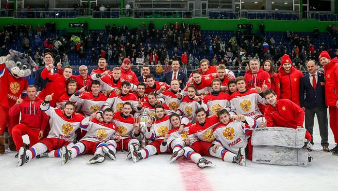 Russian juniors became Champions of the hockey Tournament of the five Nations