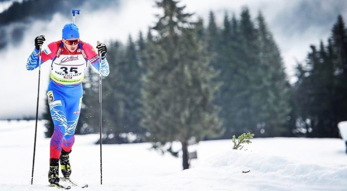 Russian Khalili became the second in the sprint race at the IBU Cup