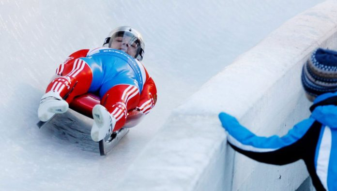 Russian Luge made it to the finals in the sprint world Cup.