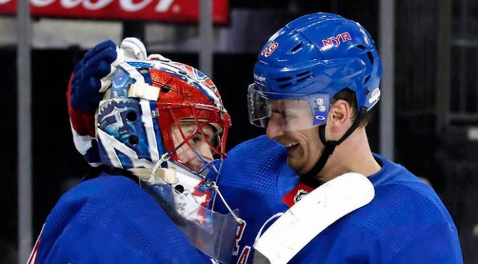 """Shesterkin was one of the heroes of the match """"Winnipeg"""" – """"Rangers"""""""