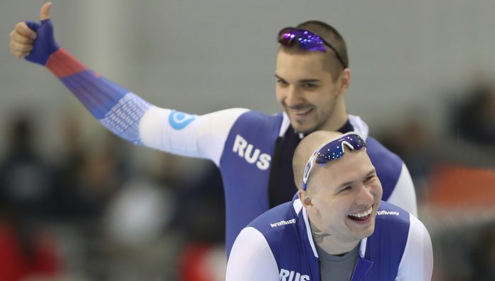 Skater Pavel Kulizhnikov became world champion in the sprint