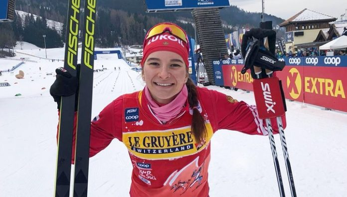 Ski. Nepryaeva took silver in the sprint at the world Cup in Falun