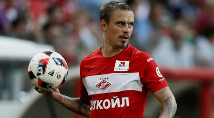 """""""Spartak"""" has extended his contract with the defender Yeshchenko"""
