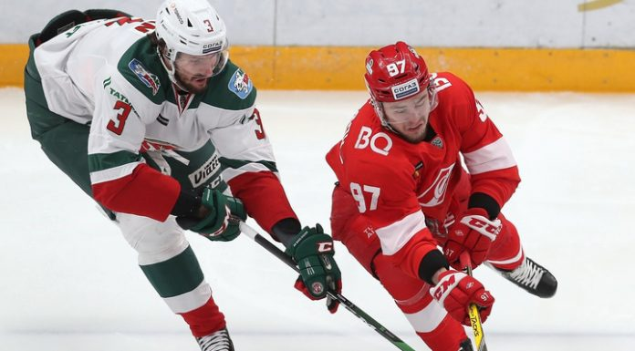 """""""Spartak"""" took revenge from """"AK Bars"""" in the CHL"""