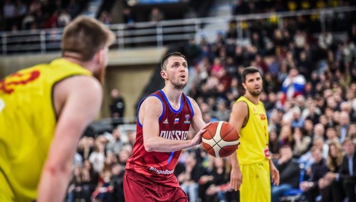 Team Russia beat team North of Macedonia in qualification for Eurobasket