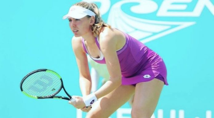 Tennis. Alexandrov lost Anisimova at the start of the tournament in Doha