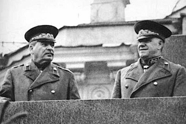 That the KGB were looking for Marshal Zhukov during the search in 1948