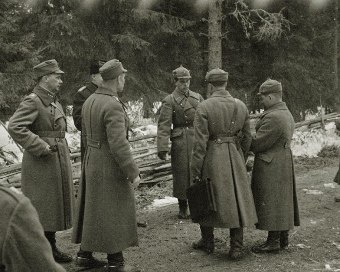 That the Soviet Union became prisoners by the Finns after the Winter war