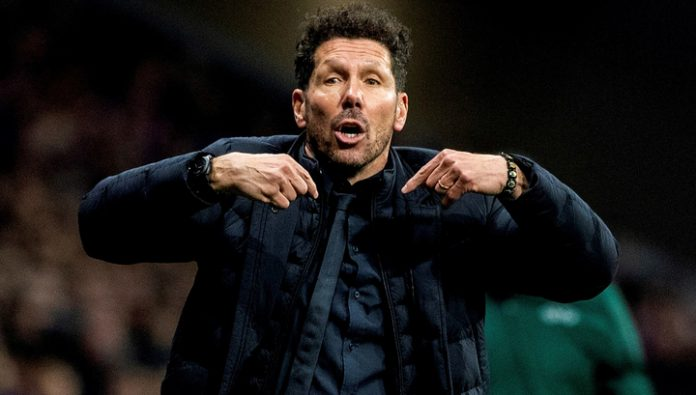 The coach of Atletico Simeone: we could have scored more on the counter