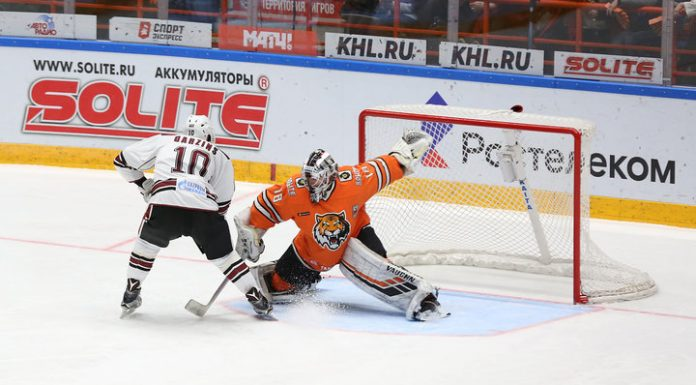 """""""The Cupid"""" has interrupted a victorious series in the KHL, losing at home Riga """"Dinamo"""""""