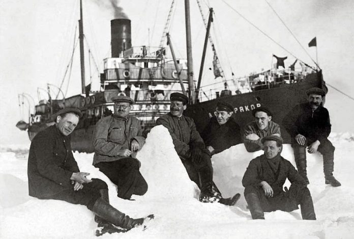The fate of the surviving sailors from the sinking of the icebreaker
