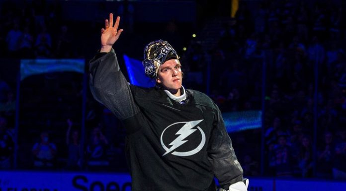 """The goalkeeper """"Tampa"""" Wasilewski entered the history of the NHL"""