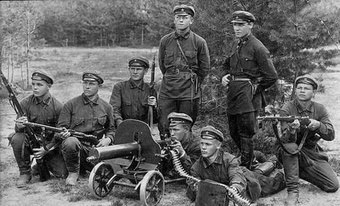 The major crimes of the red Army in the Civil war