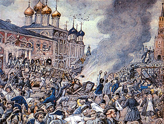 The outcome 1771: why Muscovites fled the city