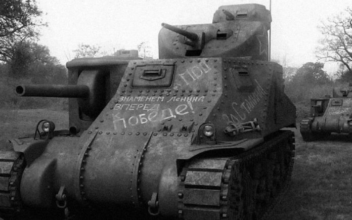 The role played by American tanks in the battle of Kursk