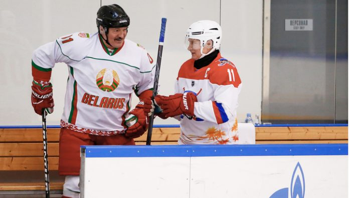 The team of Putin and Lukashenko defeated the rival in Sochi