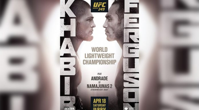 The UFC officially announced the fight with Nurmagomedov Ferguson