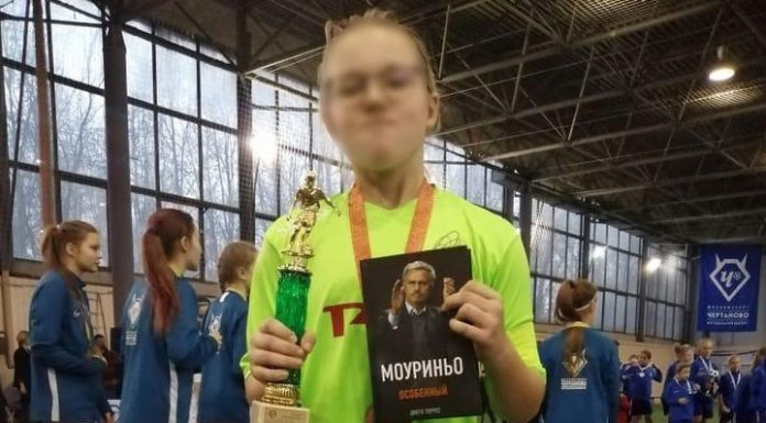The young football player admitted to the competitions among boys, thanks to RFS