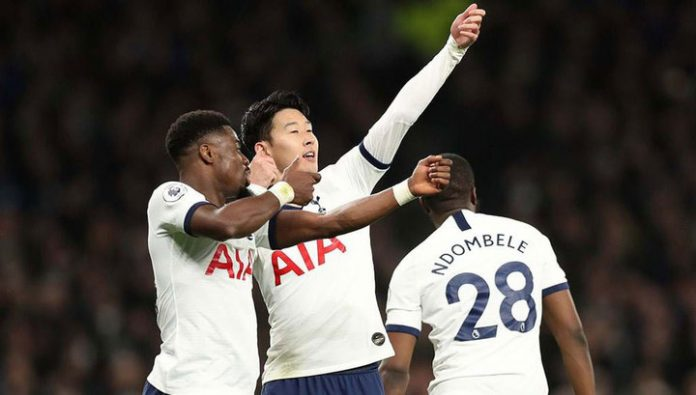 Tottenham defeated Manchester city