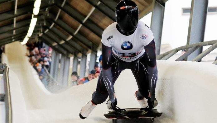 Tretyakov became the second in the overall world Cup skeleton