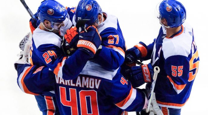 Varlamov has reflected 35 shots and helped the islanders defeat the Phillies