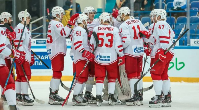 """""""Vityaz"""" lost """"Severstal"""" in the penalty shootout, but his shot in the playoffs of the Gagarin Cup"""