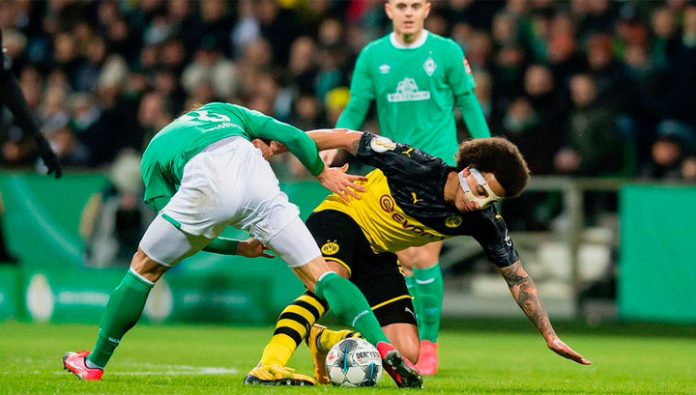 Werder Bremen knocked out Borussia Dortmund from the German Cup