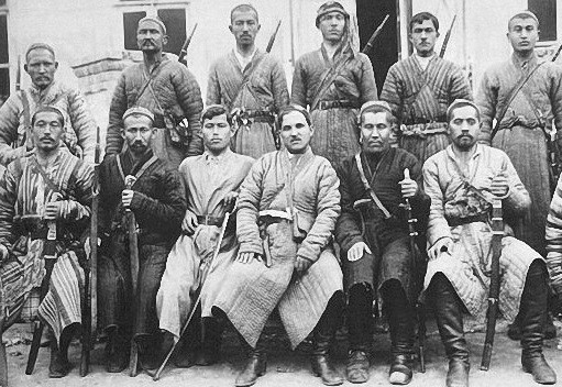 What Basmachi fought for the Red Army in the Civil war