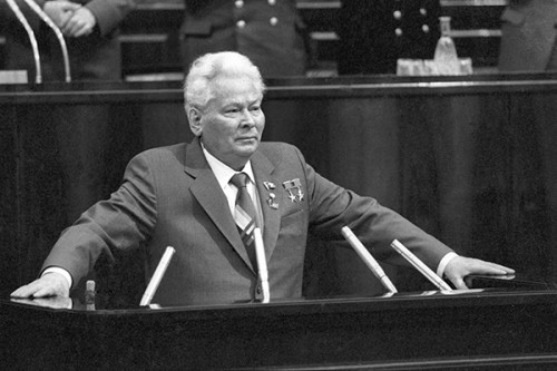 What good did Konstantin Chernenko for the Soviet Union