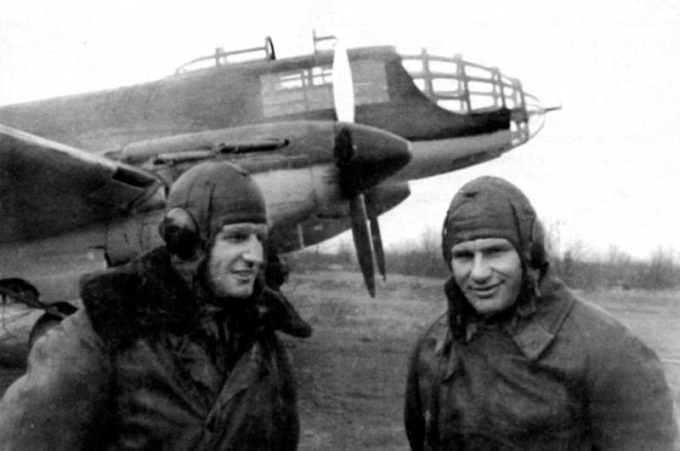 What happened during the second RAID on Berlin, Soviet bombers