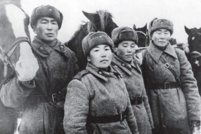 What the soldiers of the red Army were the most fearless
