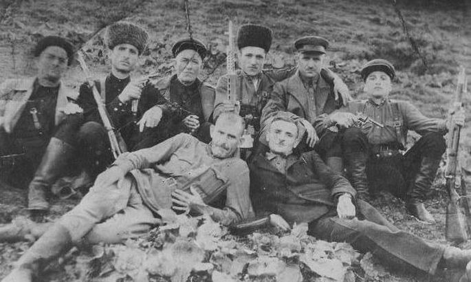 What uprisings occurred in Chechnya in the Great Patriotic