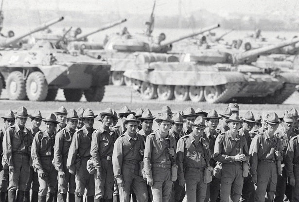 What would have happened to the USSR, if the Soviet army was still in Afghanistan