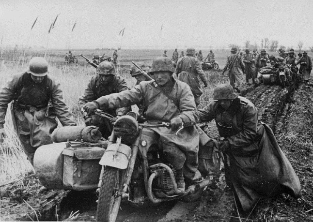 Why, after Stalingrad, the Germans removed the motorcycles from the Eastern front