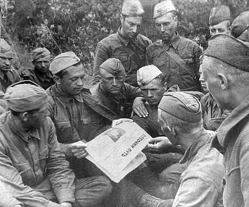 Why military Newspapers disappeared, the slogan
