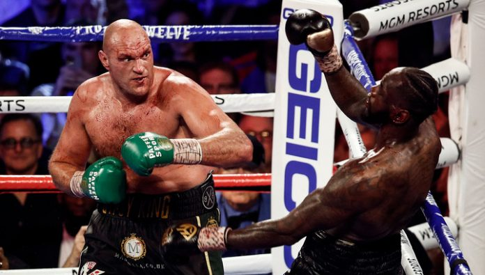 Wilder was ready to continue the fight with fury, but the coach threw in the towel